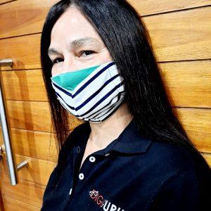 Washable Material Face Masks (Bulk  50+)