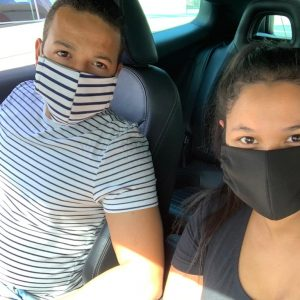 Washable Material Face Masks